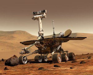 Artist's rendering of a Mars Exploration Rover. | Image: NASA/JPL/Cornell University, Maas Digital LLC